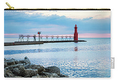 Carry-all Pouch featuring the photograph Pure Algoma by Bill Pevlor