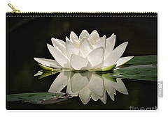 Pure And White Carry-all Pouch
