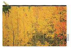 Carry-all Pouch featuring the photograph Pure Gold by David Chandler