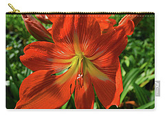 Pure Joy Amaryllis Carry-all Pouch
