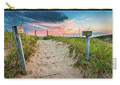 Carry-all Pouch featuring the photograph Pure Michigan Sunset by Sebastian Musial
