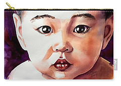 Carry-all Pouch featuring the painting Pure Potential by Michal Madison