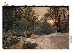 Carry-all Pouch featuring the photograph Purgatory Chasm by Robin-lee Vieira