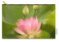 Carry-all Pouch featuring the photograph Purity Reborn by John Poon