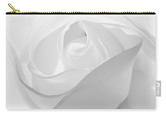 Purity - White Rose Carry-all Pouch