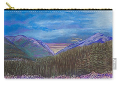 Purple Alaska Carry-all Pouch