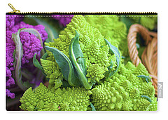 Purple And Romanesco Cauliflower Carry-all Pouch