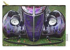 Purple Antique Ford Carry-all Pouch