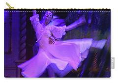 Purple Ballet Dancer Carry-all Pouch