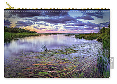 Purple Bay Carry-all Pouch