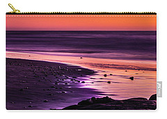 Purple Beach Carry-all Pouch