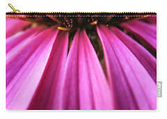 Carry-all Pouch featuring the photograph Purple Beauty by Eduard Moldoveanu