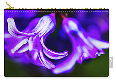 Purple Bells Carry-all Pouch