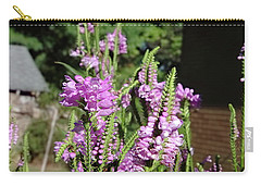 Purple Bliss Carry-all Pouch by Nick Kirby