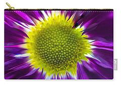 Purple Burst Carry-all Pouch