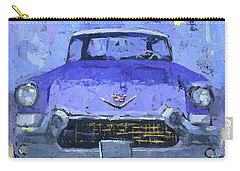 Purple Cadillac Carry-all Pouch