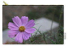 Purple Cosmos Carry-all Pouch by Khalid Saeed