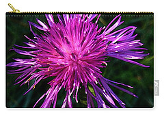 Purple Dandelions 4 Carry-all Pouch