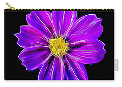 Purple Electric Carry-all Pouch