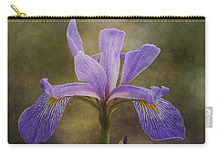 Purple Flag Iris Carry-all Pouch by Patti Deters