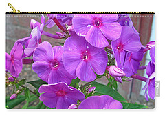 Purple Flame Phlox Carry-all Pouch