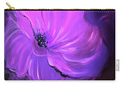Purple Flower 33 Carry-all Pouch