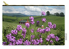 Purple Flower In Landscape Carry-all Pouch