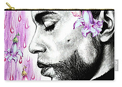 Purple Flower Rain  Prince, Roger Nelson Carry-all Pouch