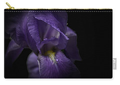 Carry-all Pouch featuring the photograph Purple Flower by Ryan Photography