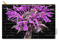 Purple Flower Under Bricks Carry-all Pouch