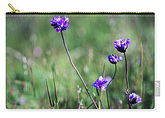 Carry-all Pouch featuring the photograph Purple Flowers by Jim and Emily Bush