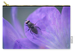 Purple Fly Carry-all Pouch