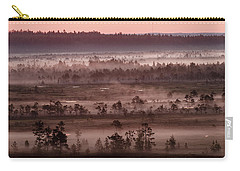 Purple Fog On Swamp Carry-all Pouch