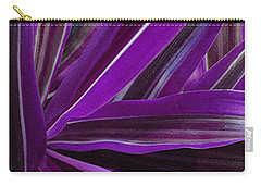 Purple Fronds Carry-all Pouch