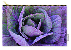 Purple Frost Carry-all Pouch