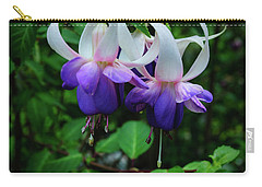 Carry-all Pouch featuring the photograph Purple Fuschia by Tikvah's Hope