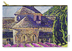 Purple Gardens Provence Carry-all Pouch