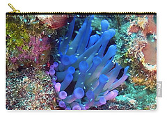 Purple Giant Sea Anemone Carry-all Pouch