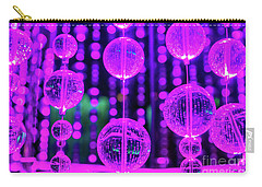 Purple Glass Carry-all Pouch