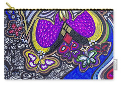 Purple Growth Carry-all Pouch