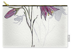 Purple Harebell Carry-all Pouch