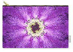 Purple Haze Carry-all Pouch by Kristin Elmquist
