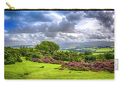 Purple Heather On Exmoor, Uk Carry-all Pouch