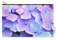 Purple Hydrangeas Carry-all Pouch