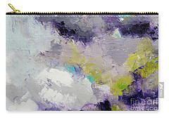 Purple Ice Clouds Carry-all Pouch by Gallery Messina