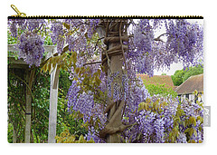 Purple In Priory Park Carry-all Pouch