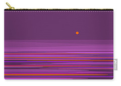 Purple In The Moonlight Carry-all Pouch