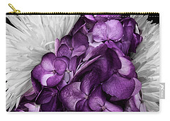 Purple In The White Carry-all Pouch