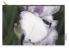 Purple Is Passion Carry-all Pouch by Sherry Hallemeier