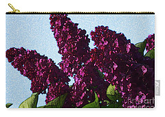 Purple Lilac 3 Carry-all Pouch